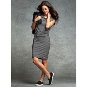 Athleta micro stripe Westwood dress